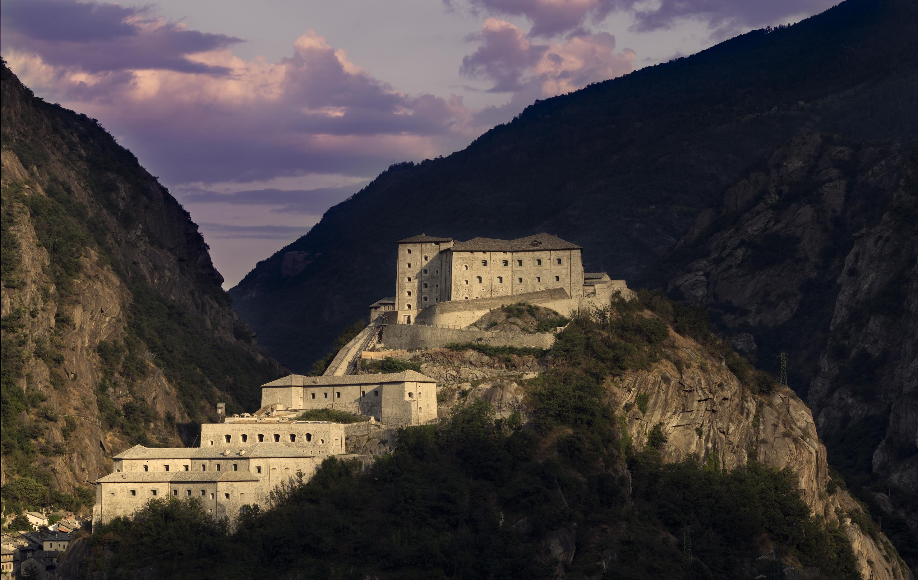 Veduta del Forte di Bard